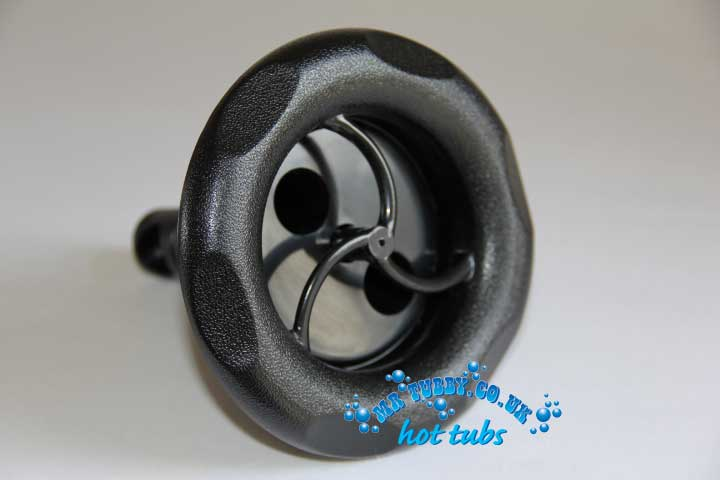 "5"" Black Scallop Face Spinning Jet RD203-5011/12"
