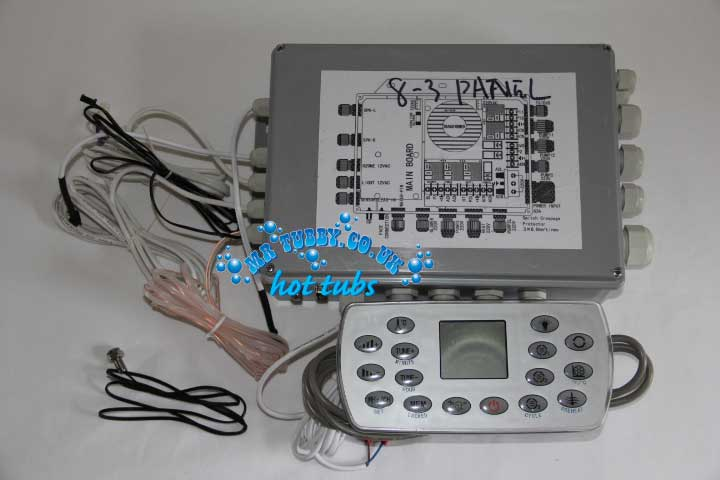 CHINESE HOT TUB SPA CONTROL PACK KL8-3 CONTROLLER TCP8-3