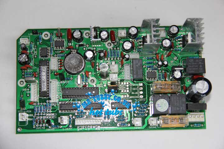 CHINESE HOT TUB SPA CONTROL PACK - Main Circuit Board KL8-3, TCP8-3