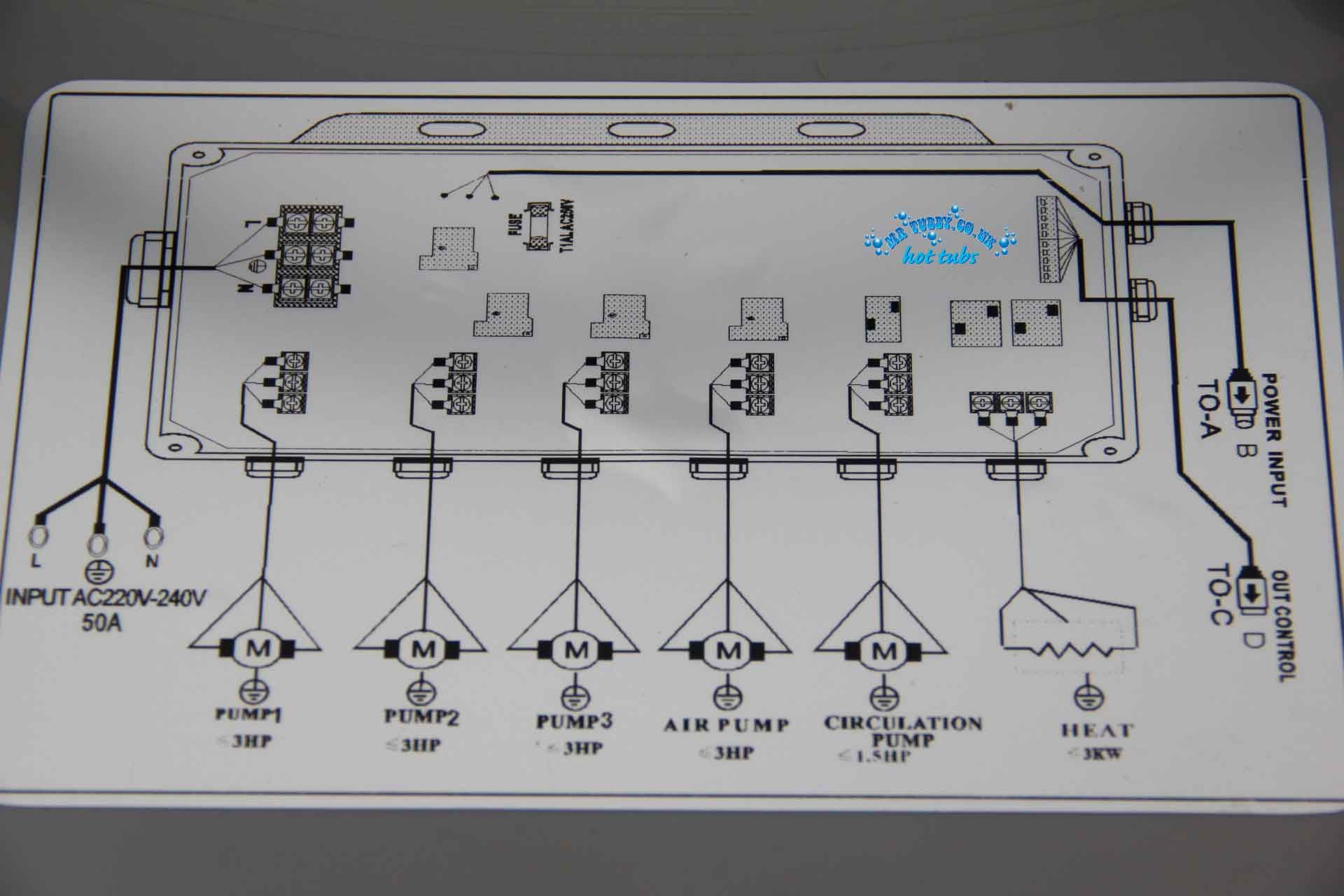 GD-7005//GD7005 chinois Relais Board PCB