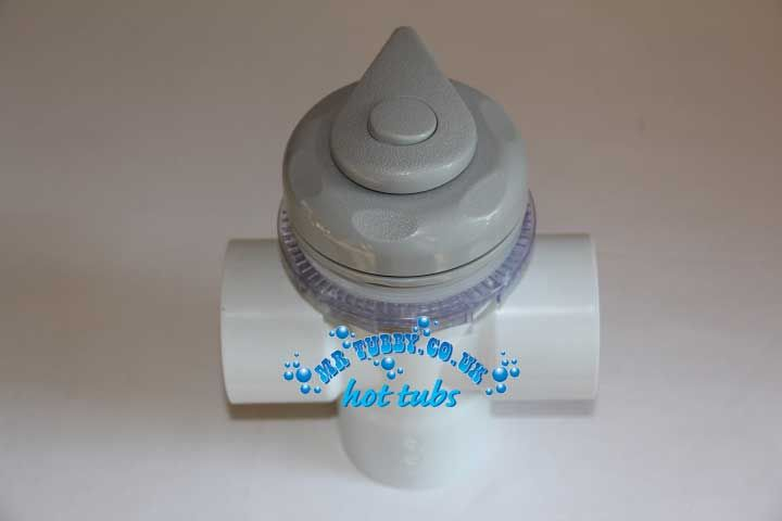 "Grey RD601-1060 Diverter Valve for 2"" plumbing"